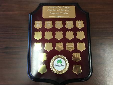 Qld Rehab Equipment Receives CCG's Member of the Year Award - Again!