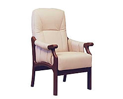 The Churchill Chair with Contour Back is very supportive & comfortable