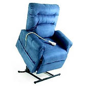 Single Motor Electric Lift and Recline Chair