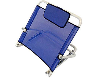 Bed Backrest, Colour Blue, Angle adjustable