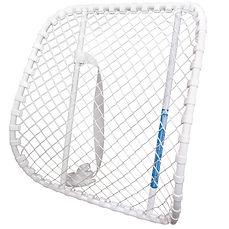 Bassett Lumbar Support has an open mesh design allowing free air circulation