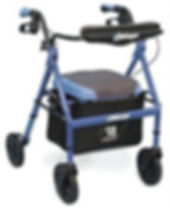 Airgo Comfort Plus Aluminium Walker
