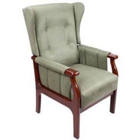 Leo Chair. Contour Back With Wings