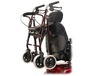 Mobility Scooter Walking Frame Holder