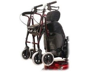Mobility Scooter Walking Frame Holder