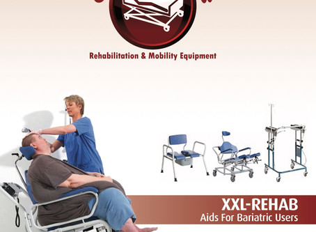 Bariatric Equipment Catalogue Out Now.