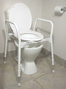 Aluminium Over Toilet Frame With Lid