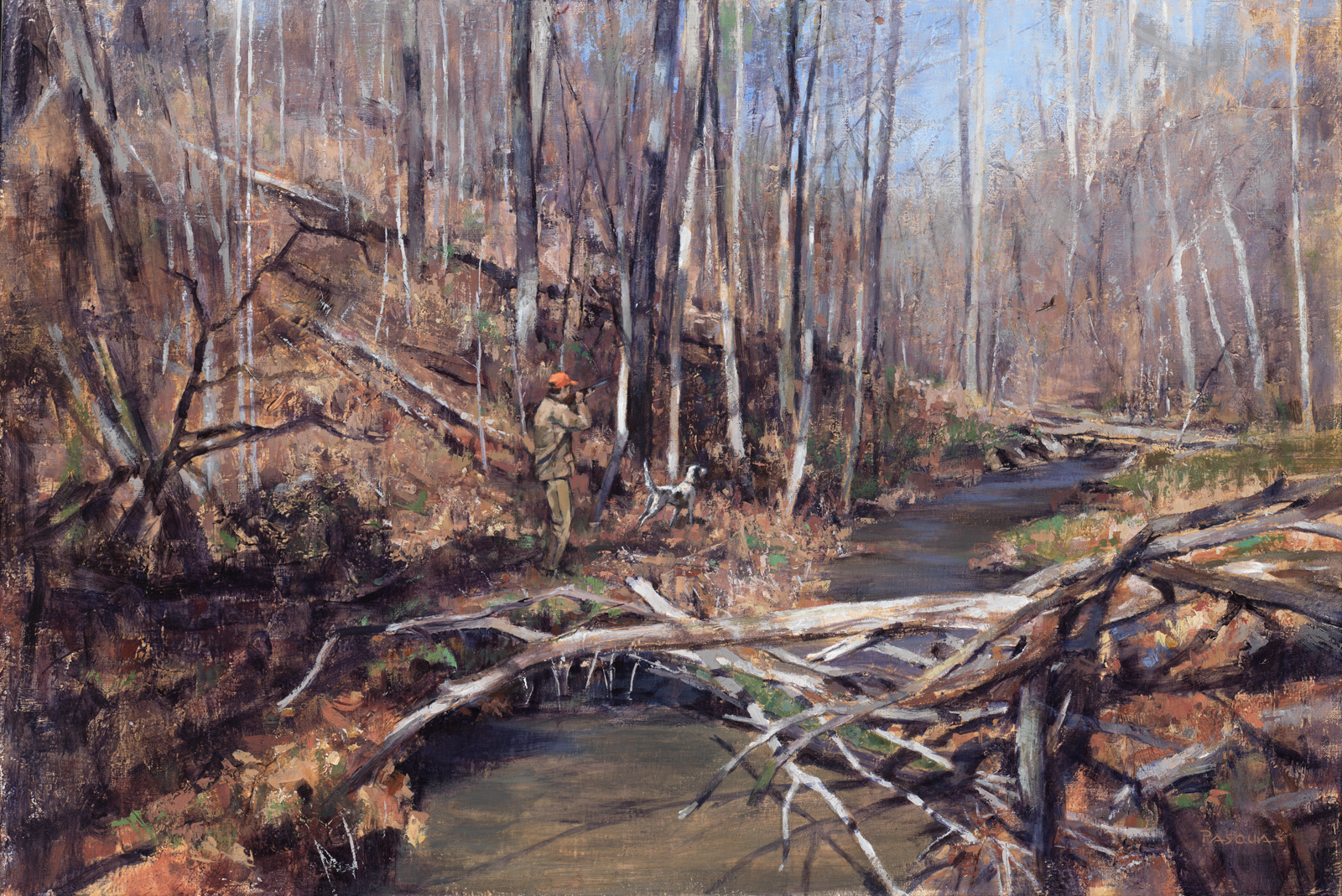 Up a Creek  19 x 28