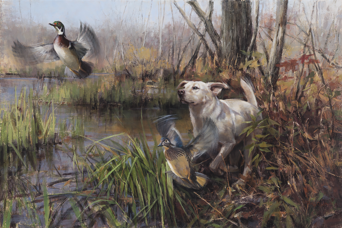 Jumping Woodies 24 x 36