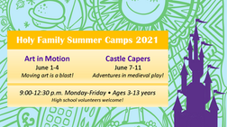 Preschool Summer Camp 2021