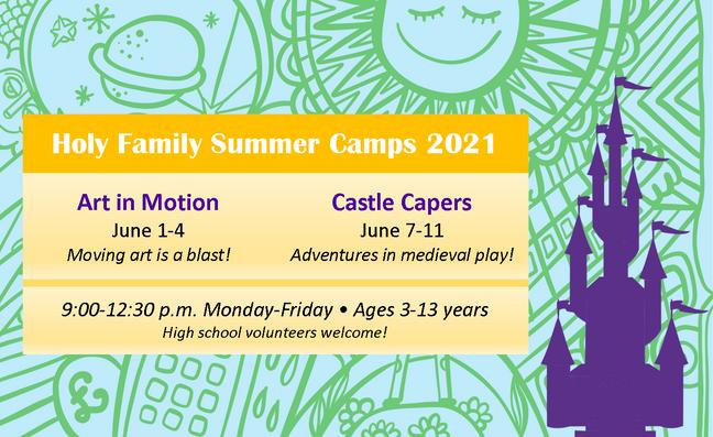 Preschool Summer Camp 2021