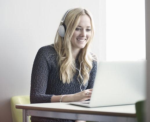 30-Minute ON-LINE Private Voice Lesson