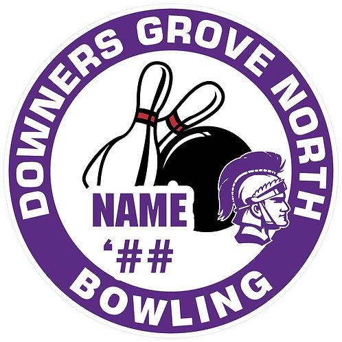 DGN Bowling Sticker