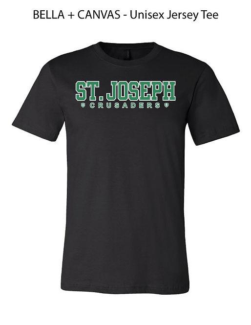 SJS Jersey T-Shirt - Black