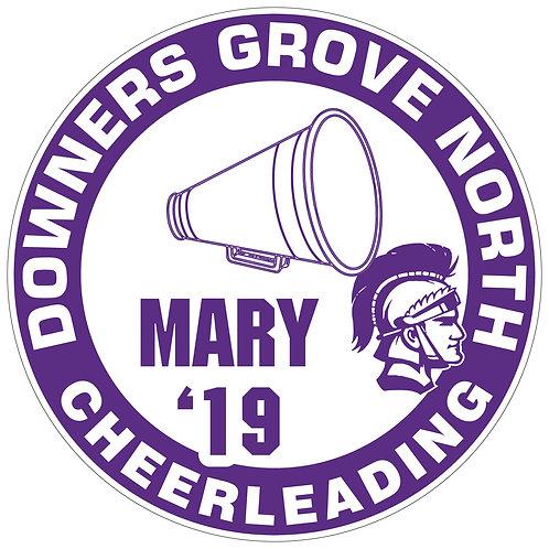 DGN Cheerleading Yard Sign