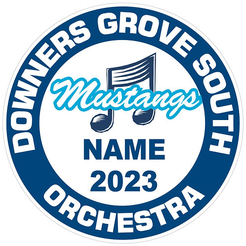 "DGS Orchestra ""Mustangs"" Yard Sign"