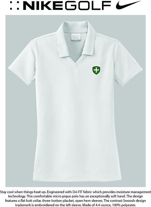 SJS Nike Shield Women's Polo - White
