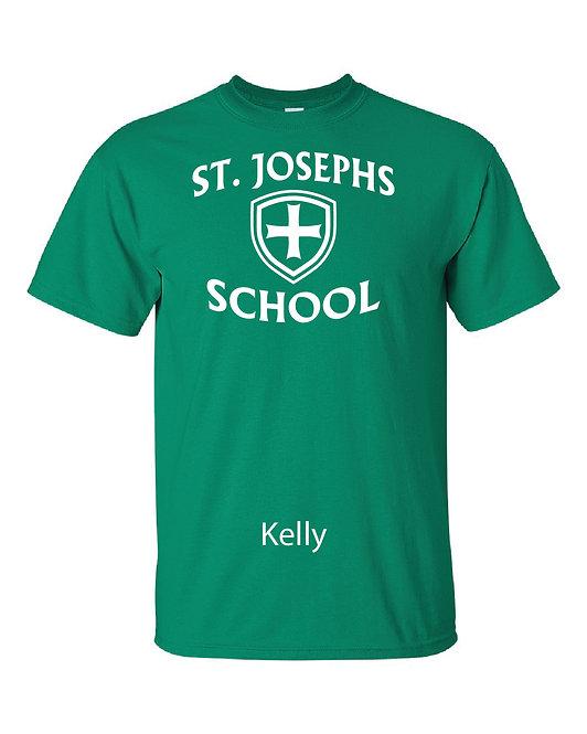 SJS School Shirt - Green