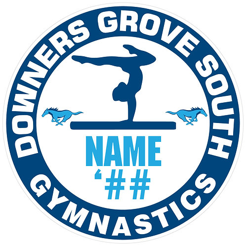 DGS Women's Gymnastics Sticker