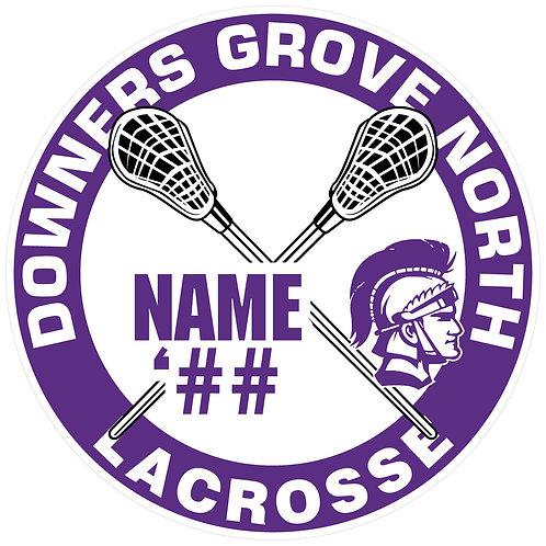 DGN Lacrosse Sticker