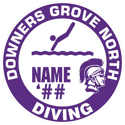 DGN Diving Sticker