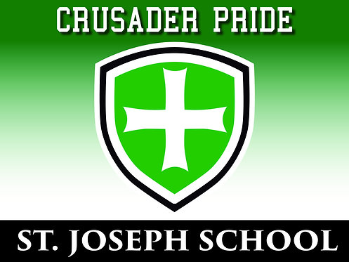 SJS Crusader Pride Yard Sign