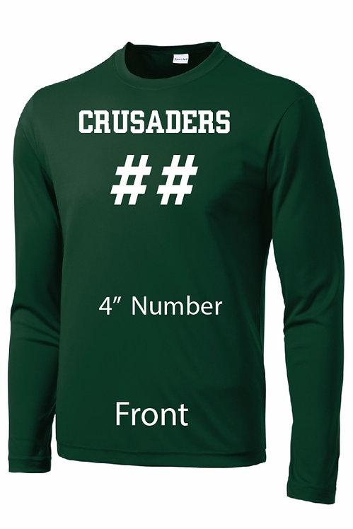 SJS Performance Long Sleeve Shooting Shirt - Name & Number