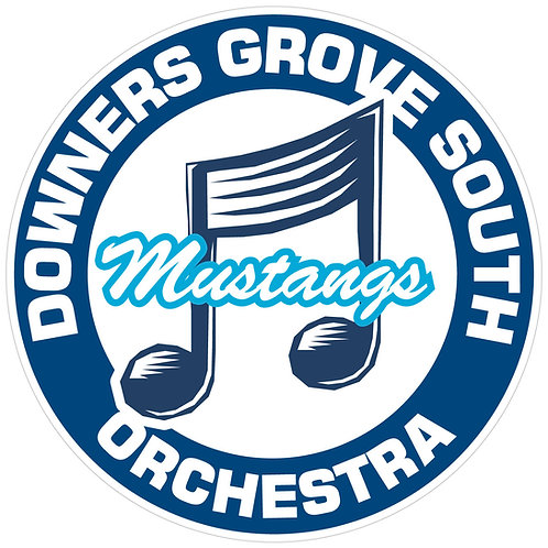 "DGS Orchestra ""Mustangs"" Sticker - Nameless"