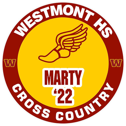 WHS Cross Country Yard Sign