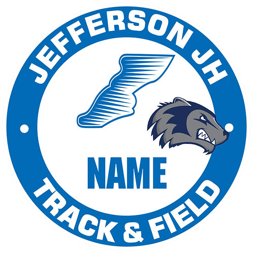 Jefferson Track & Field Yard Sign