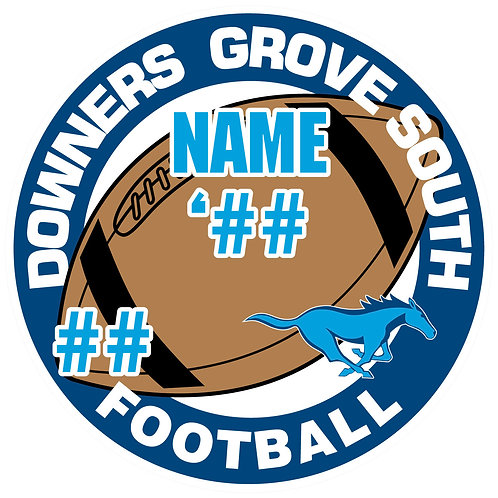 DGS Football Yard Sign