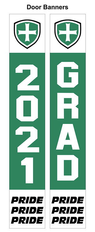 SJS Graduation Door Banner Set