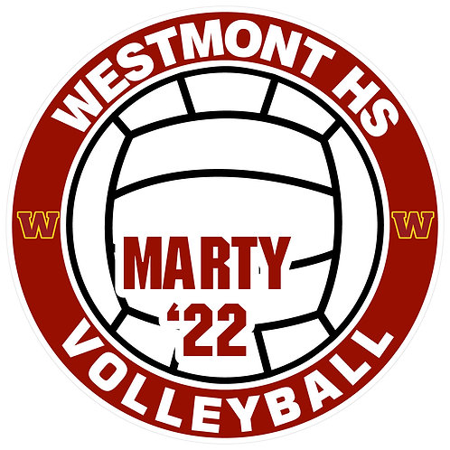 WHS Volleyball Yard Sign