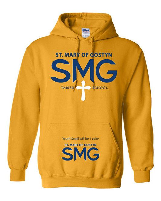 SMG Sweatshirt - Gold