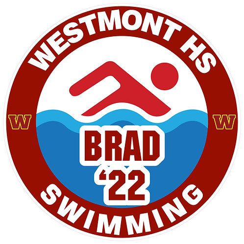 WHS Swimming Yard Sign