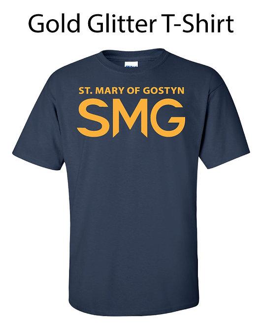 SMG Gold Glitter T-Shirt