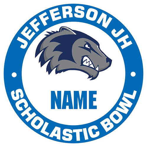 Jefferson Scholastic Bowl Yard Sign