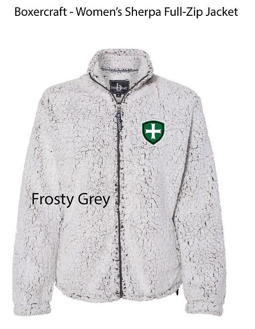 SJS Sherpa Full Zip Frosty Grey