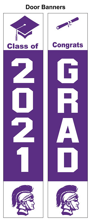 DGN Graduation Door Banner Set