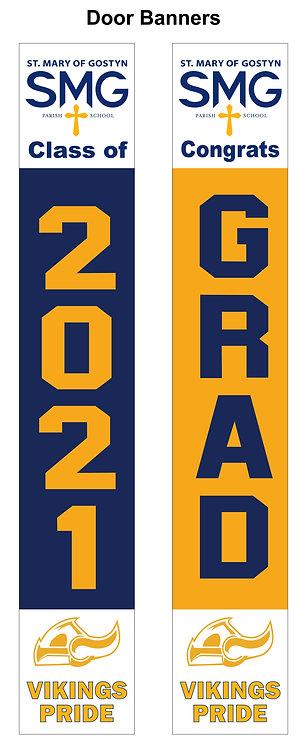 SMG Graduation Door Banner Set