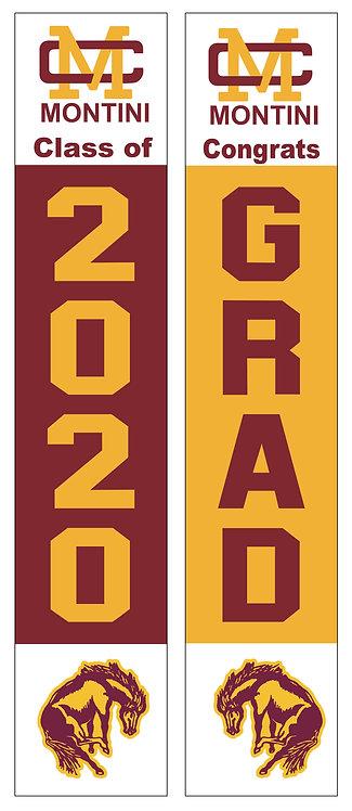 Montini Graduation Door Banner Set