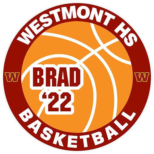 WHS Basketball Yard Sign