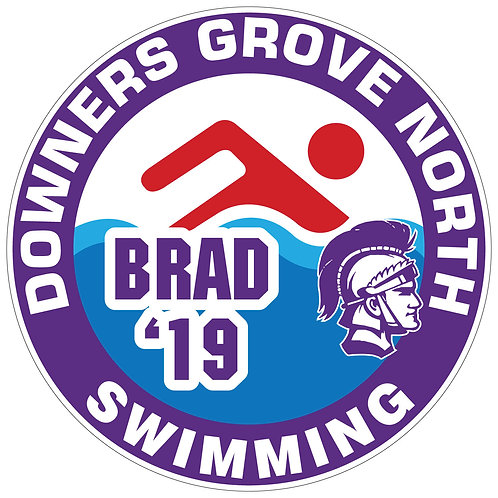 DGN Swimming Yard Sign