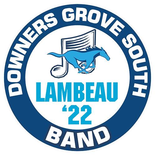 DGS Band Yard Sign