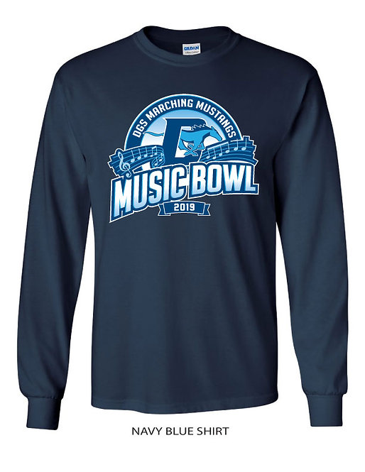 DGS Music Bowl Long Sleeve Shirt