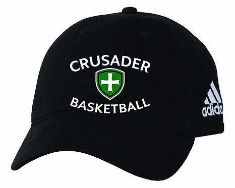 SJS Adidas Basketball Hat - Black