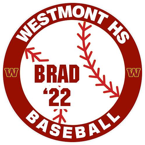 WHS Baseball Yard Sign