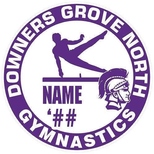 DGN Men's Gymnastics Yard Sign