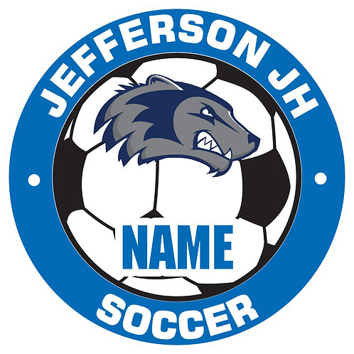 Jefferson Soccer Yard Sign