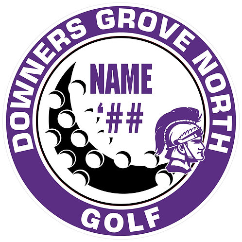 DGN Golf Yard Sign
